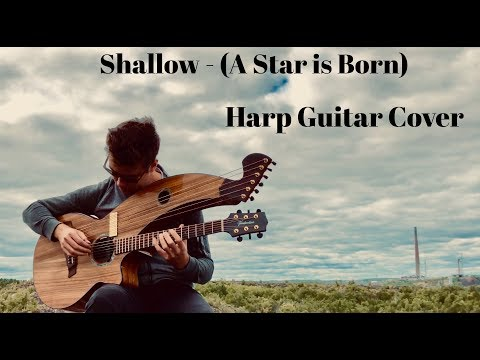 shallow---lady-gaga-&-bradley-cooper---harp-guitar-cover---jamie-dupuis
