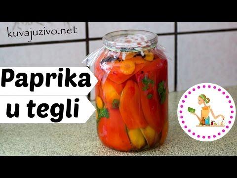 Kisela paprika u tegli -  Video recept thumbnail