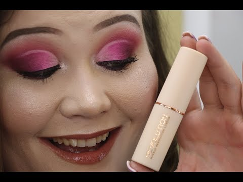 NEW! Makeup Revolution Stick Foundation-DEWY?! Review, Wear Test & Thoughts!