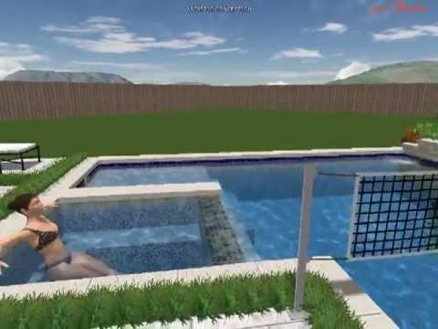 Dallas Swimming Pool Builder Swiderski Residence, Prosper, Texas