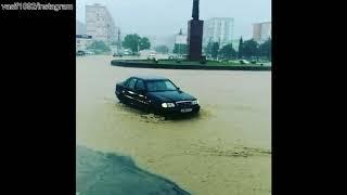 Ливневой потоп в Рустави, Грузия