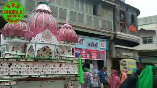 Dhoraji moharram 2019 all tajiya full video by.S.R.G DHORAJI