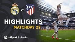 Highlights Real Madrid vs Atletico Madrid (1-0)