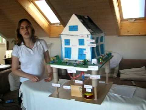Earthquake resistant houses for a science project