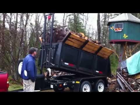 Homemade Dump Trailer