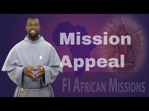 FI African Mission Appeal - Fra Francois, FI