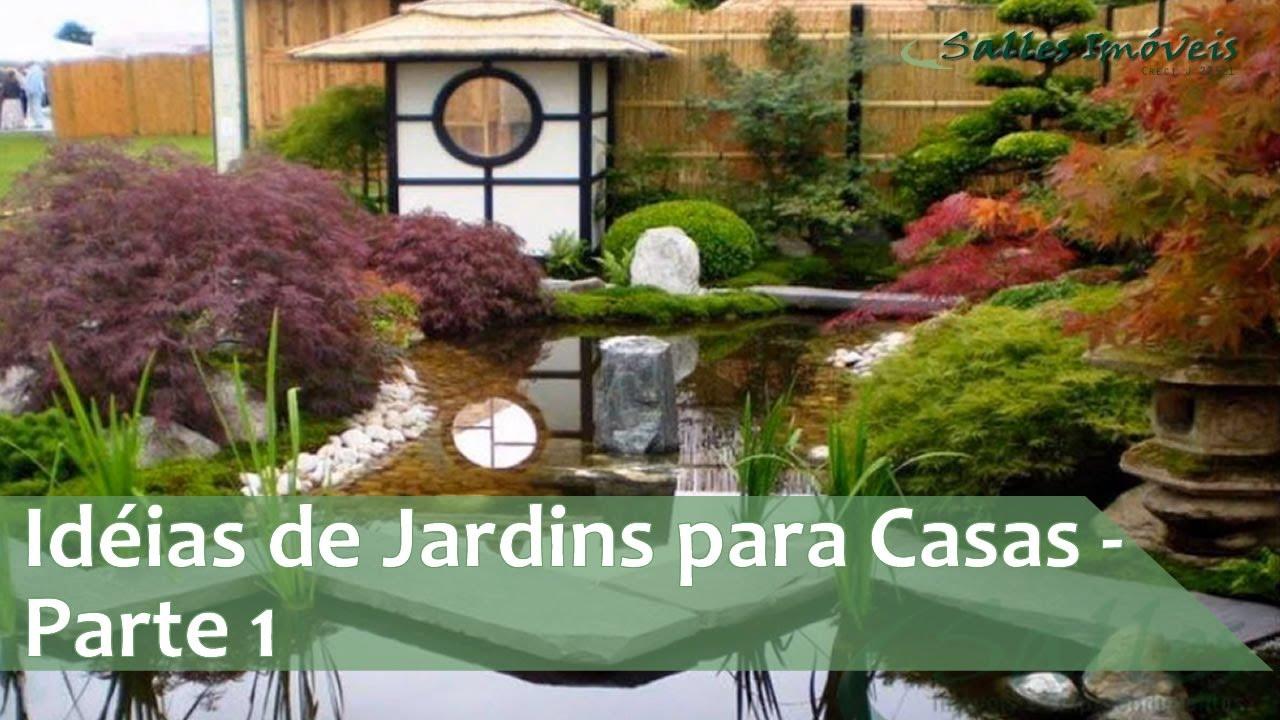 Id?ias de Jardins para Casas - Parte 1 - YouTube