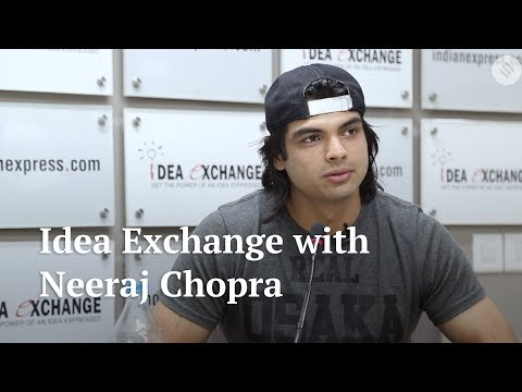 Idea Exchange | Javelin thrower Neeraj Chopra underlines the importance of technique in the game Mp3