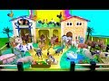 Learn Farm Animal Names and Sounds - Toys for Kids - Pigs Horses Sheep Cows - Fun Educational