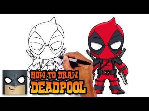 How To Draw Deadpool | Deadpool 2