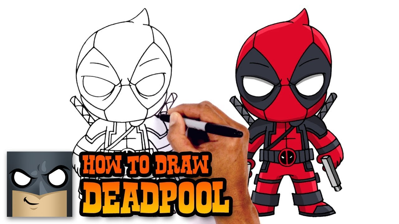how to draw deadpool deadpool 2