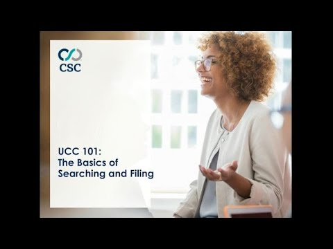 UCC 101: The Basics Of UCC Searching And Filing 2020