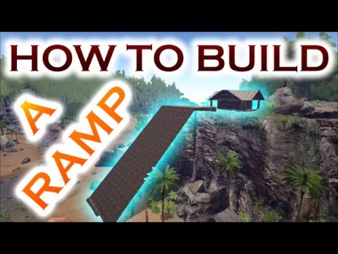 How To Build (MEGA) Ramps in ARK Survival Evolved, Building Tips&Tricks