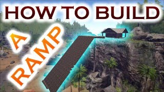 This time I gonna show you how to build a (MEGA) ramp in ARK Surviv...