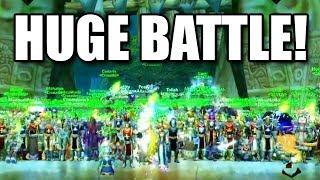 Huge World Pvp Battle At Gurubashi Arena - Swifty Wow Classic