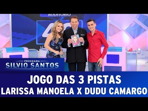 Jogo das 3 Pistas | Programa Silvio Santos (20/08/17)