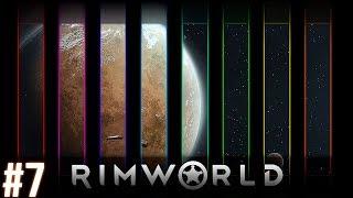 RimWorld - Космический Вестерн. Приключения. Научная Фантастика. Летсплей. Геймплей.