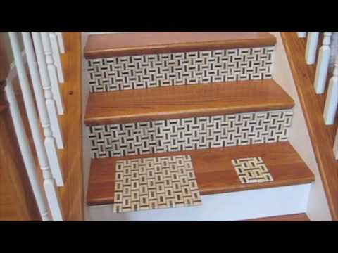 Tiling the stairs - YouTube