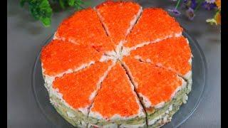 "Закусочный Торт ""Мандарин"""