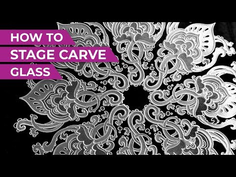How To Multi-Stage Carve Glass | IKONICS Imaging