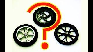 Стоит ли брать самокат с надувными колесами?