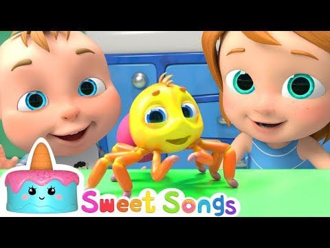 Free Download Itsy Bitsy Spider - Nursery Rhymes By Sweet Songs Mp3 dan Mp4