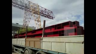 Перевозка металлоконструкций по жд полувагонами и платформами железнодорожным траснпортом(, 2016-11-02T08:27:15.000Z)