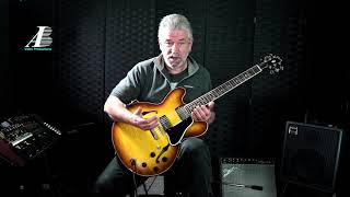 The Art of Fingerstyle on an electric guitar lesson 22 Nature Boy