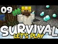 FORTUNE & DIAMONDS! - Survival Let's Play Ep. 09 - Minecraft Bedrock (PE W10 XB1)
