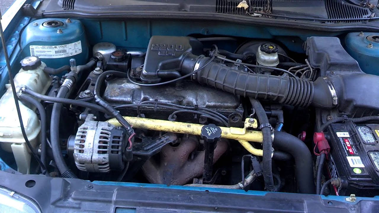 2000 Pontiac Sunfire 22 liter engine noise  YouTube