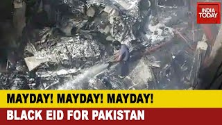 Pakistan Plane Crash: Pia Plane Crashes In Karachi, Black Eid For Pakistan