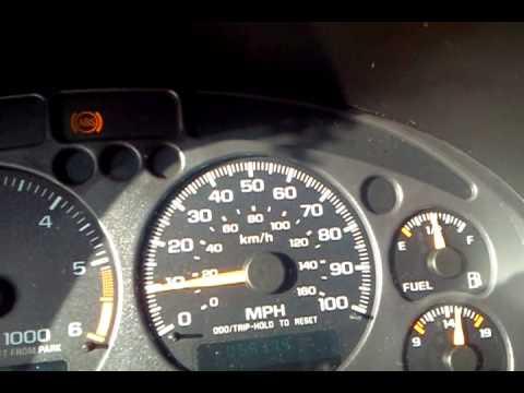 2003 Blazer ABS, Brake light and dancing speedometer