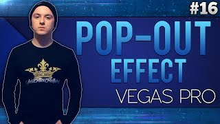 Sony Vegas Pro 13: Pop-Out Effect - Tutorial #16