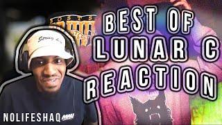 BEST OF LUNAR C | Don't Flop Rap Battles | NoLifeShaq REACTION