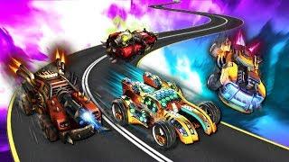 ROCKET LEAGUE + DOTA 2 - ЧТО ЗА АДСКАЯ СМЕСЬ!? ( Heavy Metal Machines )