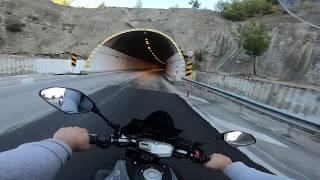 Yamaha Mt-07 Antalya Isparta Yolu