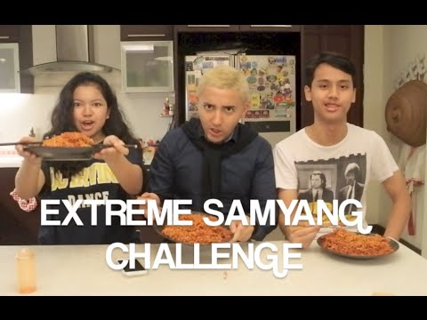 Extreme Samyang Challenge (2 Samyang + 1 Botol Bon Cabe LVL 15)