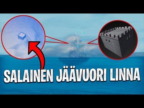 JÄÄVUORI JA LINNA?!? & RIP TILTED TOWERS??? - FORTNITE UUTISET & TEORIAT