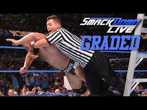 WWE Smackdown Live: GRADED (12 June) | Rusev vs. Samoa Joe