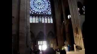 Собор Парижской Богоматери. Служба(http://kruiz2011.ru Это видео снято в Париже на службе в Соборе Парижской Богоматери http://kruiz2011.ru., 2012-05-06T18:57:00.000Z)