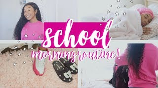 SCHOOL MORNING ROUTINE! Ft. Nadula Hair!