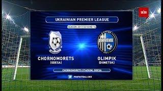 Chernomorets O. vs Olimpik Donetsk full match