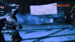 Batman Arkham Origins : DeathStroke fight Speed Up