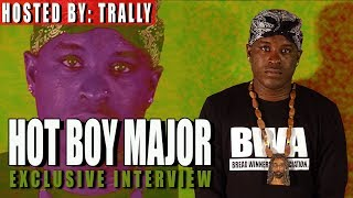 Hot Boy Major - Talks About Latest EP | Up Coming Move |Luca Brasi 3 Tour | New music