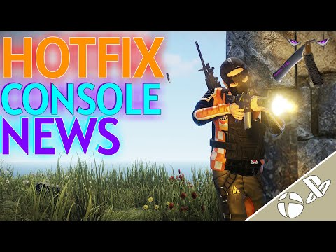 Rust Console ☢️ Hot Fix Patch Update!!!🎮 And More News