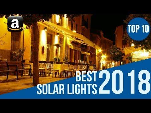 Top 10: Best Outdoor Security Motion Sensor Solar Lights 2018