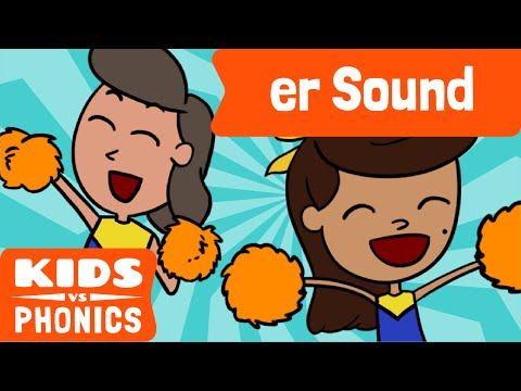 er | Fun Phonics | How to Read | Made by Kids vs Phonics