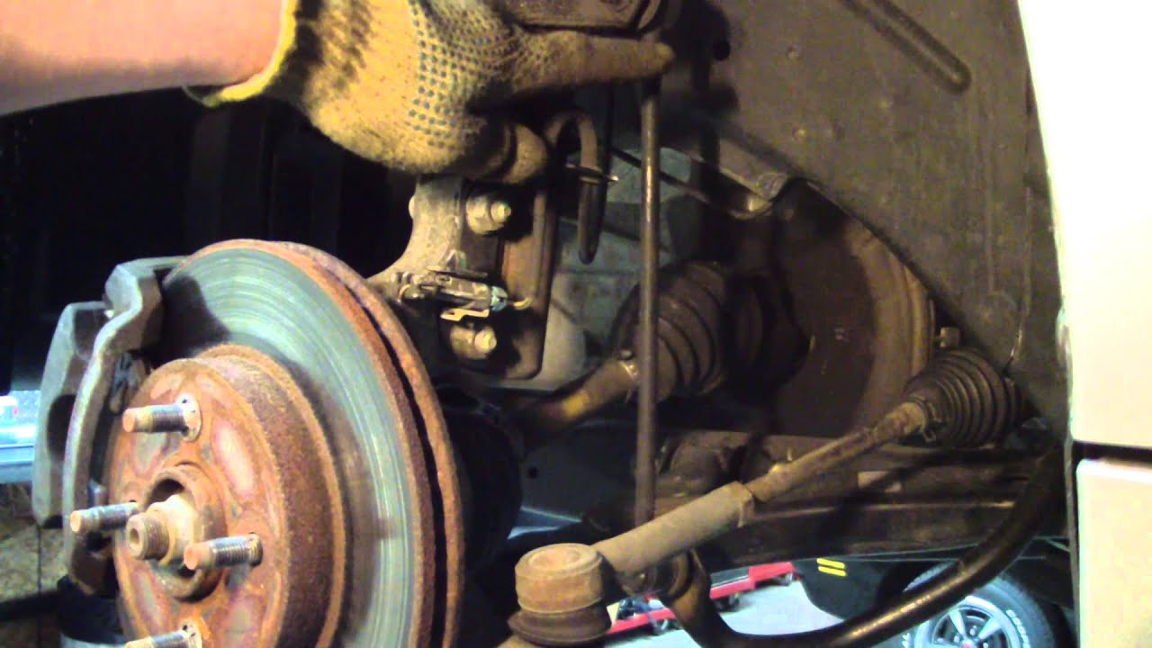 Stabilizer or Sway Bar Link Replace On a Saturn Ion  YouTube