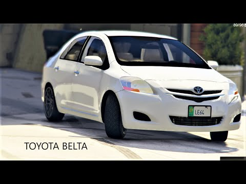 TOYOTA BELTA | Real Life Mod # 105 L GTA 5 | Urdu\Hindi | Leon Gaming