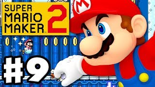 Super Mario Maker 2 - Gameplay Walkthrough Part 9 - Swim Faster! (Nintendo Switch)